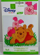 Daydreaming Pooh & Piglet Counted Cross Stitch Kit