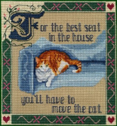 Pegasus Originals Move The Cat Counted Cross Stitch Chartpack