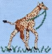 Pegasus Originals Georgette Giraffe Counted Cross Stitch Kit