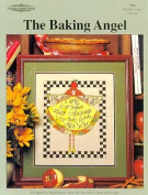 The Baking Angel a Cross Stitch Design By Carolina Country House