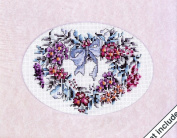 JCA Weekenders Heartfelt Blossoms Counted Cross Stitch