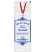 Stitch-A-Mark Bookmark - White