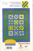Quilter's Sampler Club (Jacob's Ladder Block) Block Number 2