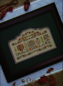 Autumn Arbour - Cross Stitch Pattern