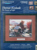 Thomas Kinkade-the Painter of Light- Country Memories Counted Cross Stitch Kit
