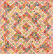 American Jane Patterns Tea Party Quilt