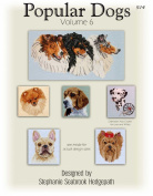 Pegasus Original's Popular Dogs Volume 6 Counted Cross Stitsh