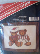 Two Teddy Bears Counted Cross Stitch Kit