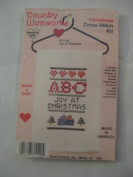 Country Wireworks Christmas Cross-Stitch Kit 'Joy At Christmas'