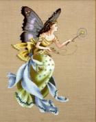The Cottage Garden Fairy, - Cross Stitch Pattern
