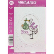 Baby Stitch-A-Card Counted Cross Stitch Kit