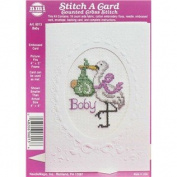 Baby Stitch-A-Card Counted Cross Stitch Kit