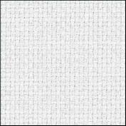 Zweigart 16Ct Aida-46cm X 50cm Needlework Fabric - White