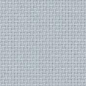 Zweigart 16Ct Aida-46cm X 50cm Needlework Fabric - Pewter