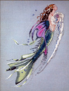 Mermaid of the Pearls - Cross Stitch Pattern
