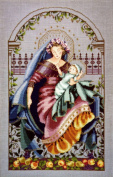Madonna of the Garden - Cross Stitch Pattern