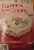 Harp Angel - Christmas in the Country - Cross Stitch Kit #025112