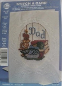 Dad - Stitch a Card Counted Cross Stitch Kit - #1872