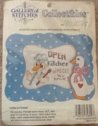 Open Kitchen - Counted Cross Stitch Kit with Frame - Bucilla #32899