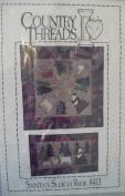 Santa's Sleigh Ride - Applique Quilt Patterns & Instructions #411