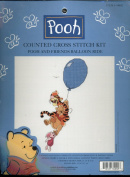 Walt Disney Counted Cross Stitch Kit - Winnie the Pooh and Friends Balloon Ride
