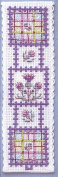 Textile Heritage Tartan Thistles Counted Cross Stitch Bookmark Kit