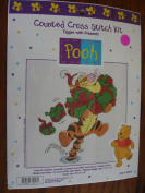 """""""TIGGER WITH PRESENTS"""" Counted Cross Stitch Kit"""