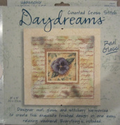 "Daydreams ""Velvet Pansy"" Counted Cross Stitch Kit"