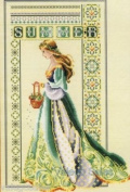 Celtic Summer Cross Stitch Pattern