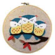 Whimsy StitchesHoot Embroidery Kit