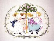 Ring Around the Rose Tree - Cross Stitch Pattern