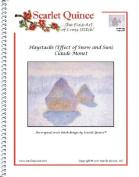 Haystacks (Effect of Snow and Sun) - Claude Monet
