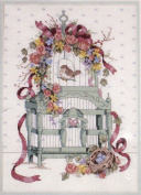 Ribbons 'N Bows Birdcage - Counted Cross Stitch