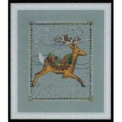 Dasher Cross Stitch Pattern