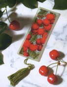 Royal Paris Les Cerises Bookmark Cross Stitch Kit
