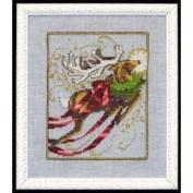 Rudolph Cross Stitch Pattern