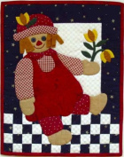 Rag Doll - Rachel's of Greenfield Wall Quilt Kit - K0399