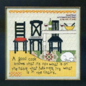 In the Chairs - Beaded Counted Cross Stitch Kit - CG302104
