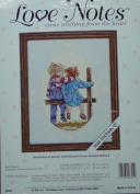 Love Notes Counted Cross Stitch Kit - Best Friends