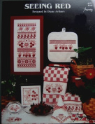 Seeing Red by Diane Arthurs Imaginating Cross Stitch Leaflet 171