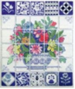 Florentine Tiles - Cross Stitch Kit