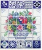 Florentine Tiles - Cross Stitch Kit