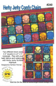 Herky Jerky Comfy Chairs Quilt Pattern