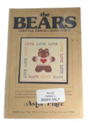 Astor Place The Bears Counted Cross Stitch Pattern