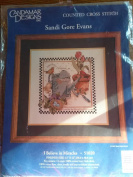 "Candamar Designs ""I Believe in Miracles"" Counted Cross Stitch Kit #51020"