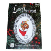 Designs for the Needle Lace Ornament 1248 Puppy Counted Cross Stitch Kit