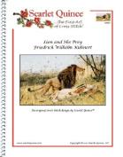 Lion and His Prey - Friedrich Wilhelm Kuhnert