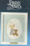 Paragon Needlecraft Precious Moments Stitchery Picture Kit with Matt Included God Loves Me