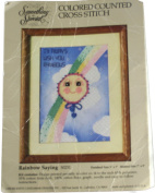 Something Special by Candamar Designs Coloured Counted Cross Stitch Kit - Rainbow Saying