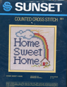 Sunset Home Sweet Home by Barbara Finwall Counted Cross Stitch Kit